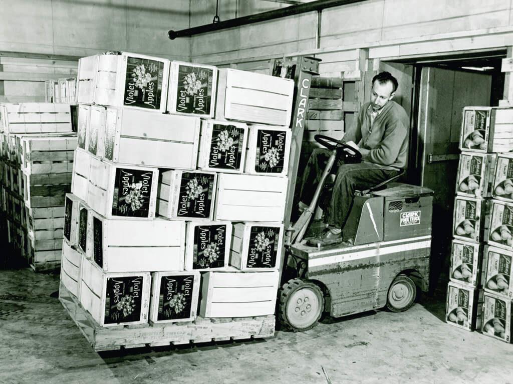První elektrické vozíky