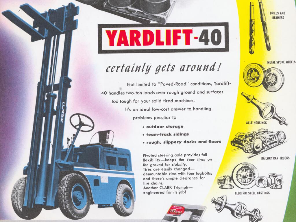 Model Yardlift 40